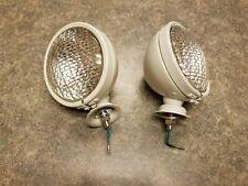 6 Volt Pair (2) TRACT-O-LITE Head Light for FORD Massey Ferguson Cockshutt