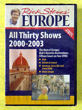 Rick Steves' Europe: All Thirty Shows 2000-2003 ~ New 4 DVD Set ~ Travel