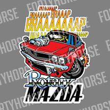 Japanese Car Vinyl Stickers - Mazda RX3 Rotary