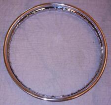 "1960's Norton Commando Matchless DRUM chrome motorcycle rim 1.85"" X 19"" 40 holes"