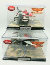 Disney Store Exclusive Planes Fire & Rescue Firefighter + Turbo Dusty Acrylic
