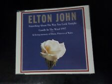 CD SINGLE - ELTON JOHN - CANDLE IN THE WIND 97 / SOMETHING ABOUT THE WAY YOU