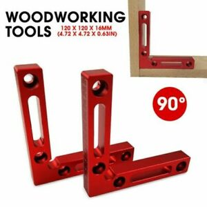 1Pc Carpenter Tools Right Angle Clamps 90° Positioning Square Woodworking Tool