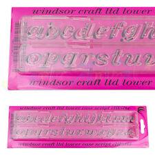 Windsor Clikstix-Script Multi Minúsculas Alfabeto Cortador