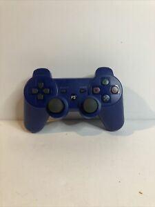 PS3 Controller Playstation 3 Wireless Bluetooth Video Gamepad Blue Fast See Pics