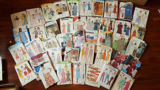 Over 50 Vintage Sewing Patterns Women Misses - 70's 80's