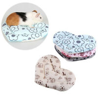 Cute Warm Soft Guinea Pig Cage Accessories Hamster Mat Bed Plush
