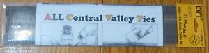 Central Valley N #3001-6 (Mainline Ties 6') Code 55 Brown Ties (Sample Pack)