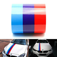 M color stripes Rally side hood vinyl decal sticker for BMW Racing Motorsport