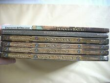 DUNGEONS & DRAGONS Lot of 6 HC Player Guides COMPLETE DIVINE WARRIOR ADVENTURER