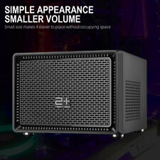 GOLDEN FIELD N-1 Mini ITX Case Gaming PC Case Desktop Computer Shell Cases Blcak