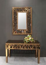 New Gorgeous Bronze Gold Patterned Mirror Home Decor Furnishings