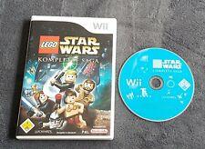 Lego Star Wars - Die Komplette Saga (Nintendo Wii, OVP, CD)