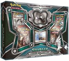 Silvally Figure Collection Box Sealed Pokemon Trading Card Game TCG 4 Boosters