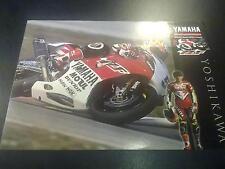 Yamaha World Superbike Team 1996 #5 Wataru Yoshikawa (JAP)