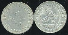 BOLIVIE   1  peso bolivianos  1969