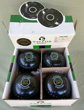 4 Taylor Vector Pro Grip Bowls Size 5~H~Black~ Blue Rings~Crown  Boxed
