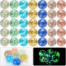 10pcs Luminous Glass Ball 16mm Cream Console Game Pinball Machine Cattle Toy Hot