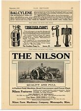 1916 Nilson Farm Machinery Company Ad: Nilson Tractors - Minneapolis, Minnesota