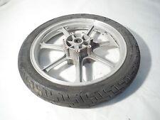 01 Kawasaki Vulcan 750 OEM Front Wheel Rim Tire 100/90-19 98 99 00 02 03VN750