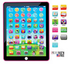 Educational Learning Tablet Toys for Girls Kids Toddlers Age 2 3 4 5 6 Years Old