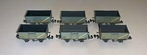 Ltd Ed Farish (377-225Z) 6 X BR grey 16 Ton Weathered Steel Mineral Wagons