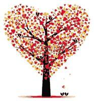 Cross Stitch Chart Pattern Heart Tree of Life (4)