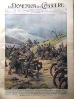 La Domenica del Corriere 20 Aprile 1941 WW2 Grecia e Jugoslavia Cirenaica Milano