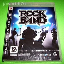 ROCK BAND NUEVO Y PRECINTADO PAL ESPAÑA PLAYSTATION 3 PS3