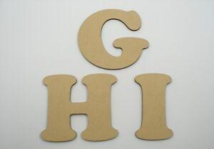 10cm Large MDF Wooden Letter Words Wood Alphabet Name Coo