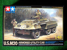 Tamiya 1/48th ~ us M20 armoured utility car ~ kit plastique #32556 neuf