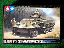 TAMIYA 1/48th ~ US m20 corazzata Utility AUTO ~ KIT IN PLASTICA #32556 NUOVO