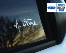 Ford is in My Blood Fenster Aufkleber Grafik
