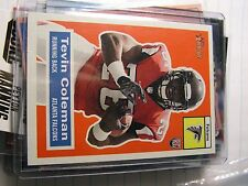 Tevin Coleman 2015 Topps Heritage Falcons Rookie Card NFL #37