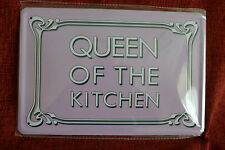 Queen of The Kitchen* Metal Sign Painted Poster Comics Book Superhero Wall Decor