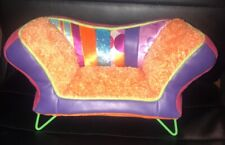 "Barbie Furniture Groovy Girls Couch Doll Accessory 12"" Plush Soft sofa"