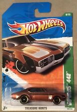 2011 Hot Wheels Treasure Hunts '68 Olds 442 Limited Edition Rare Special