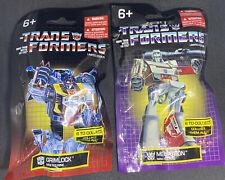 Lot of 2 NEW Hasbro Transformers Limited Edition Mini Figs Grimlock Megatron NIB
