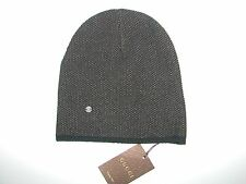 NWT AUTHENTIC GUCCI WOOL/CASHMERE BLEND BROW/BEIGE KNIT HAT SIZE M made -Italy