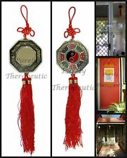 ~FENG SHUI BAGUA MIRROR~Ba Gua~Hanging~Reflect Negativity~Chinese~Yin Yang~Luck~