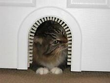 Cat Hole- Original Cathole Pet Door w/Cleaning / Grooming Brush*Free 2Day Ship