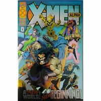 Marvel 1994 X-Men Alpha 1 Foil Cover (1st Appearance of Dark Beast X-Man)
