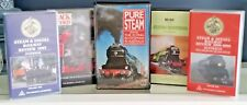 5 x STEAM RAIL AUSTRALIA` VIDEOS DIESEL RAILWAY,FLYING SCOTSMAN, TRAINS vhs/pal