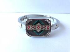 Handbag Holder/Purse Hook Bracelet with Navajo Design