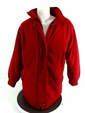 BROMLEY SPORT WOMENS RED MICROFIBER INSULATED JACKET SIZE S