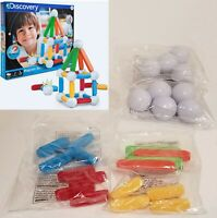 NEW (NO BOX) Discovery Kids Magnetic Blocks Building Set 25 Piece Toys Tiles