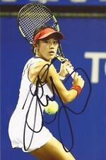 Tenis: Miyu Kato firmado 6x4 foto de acción + certificado De Autenticidad * Wimbledon *