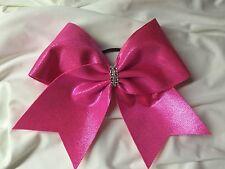 Hot Pink Pink Cheer Bow