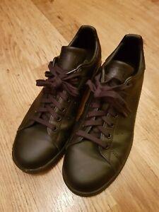 adidas Originals Stan Smith Trainers Black UK 9