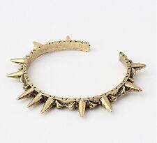 New Style Fashion Bracelets Punk Style bronze Rivets Opening Accessories women